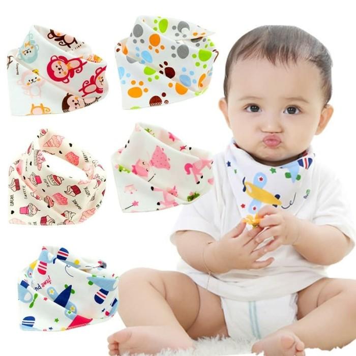 Foto Produk Slaber / Bib Segitiga Bayi dari clothes import babykids