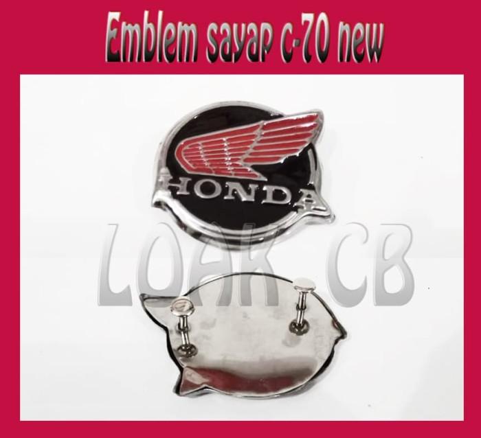 harga Emblem sayap c70 bulat Tokopedia.com