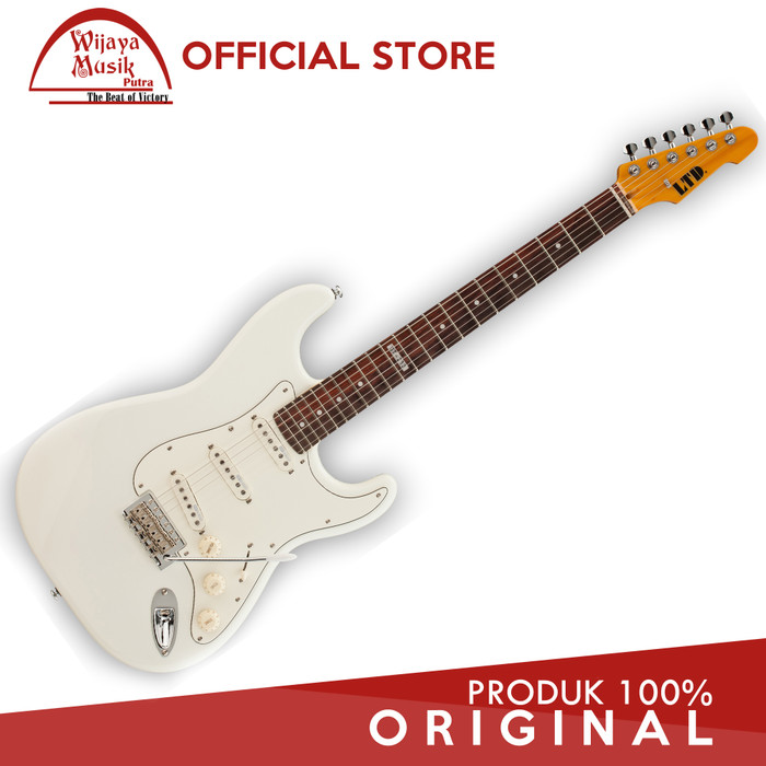 harga Esp ltd st-213 maple - olympic white Tokopedia.com