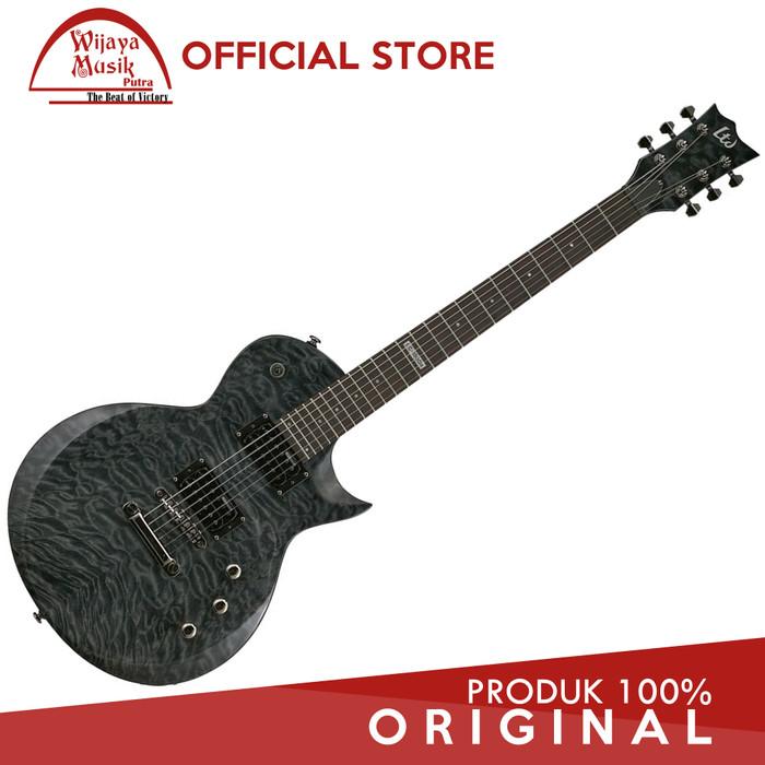 harga Esp ltd gitar elektrik ec100qm see thru black Tokopedia.com