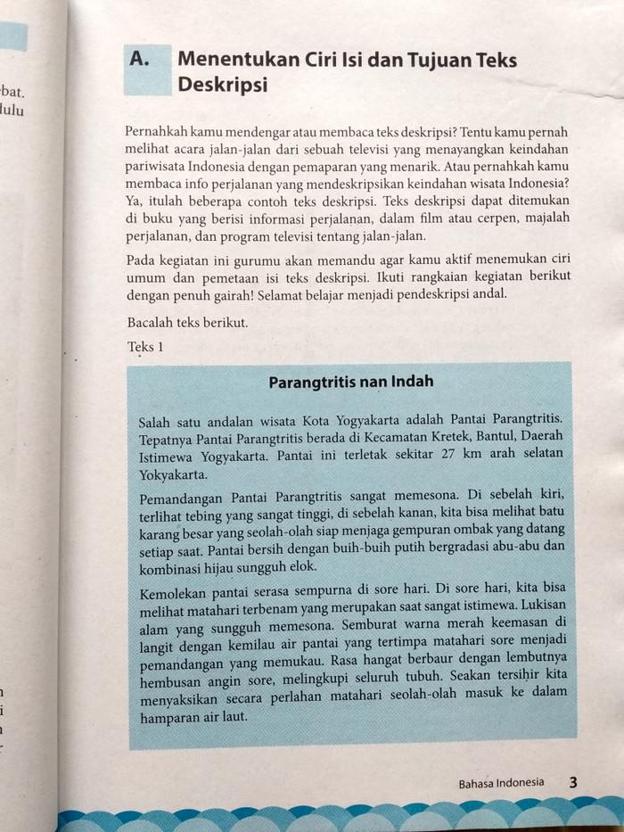 Kunci Jawaban Buku Paket Bahasa Indonesia Kelas 7 Kurikulum 2013 Revisi 2016 Kumpulan Soal