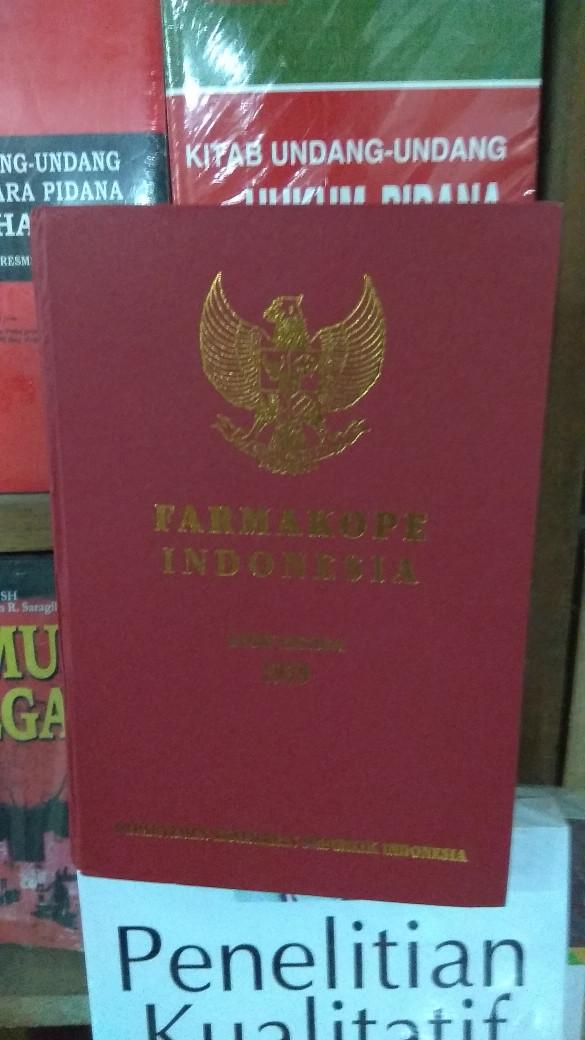 Buku farmakope indonesia edisi 3.