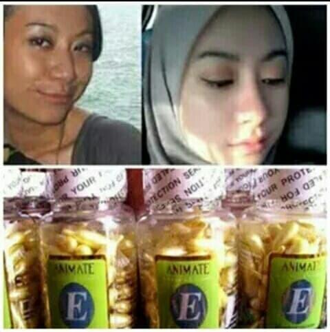 ... harga Vitamin pemutih wajah/serum vitamin /vitamin animate isi 60 kapsul Tokopedia.com