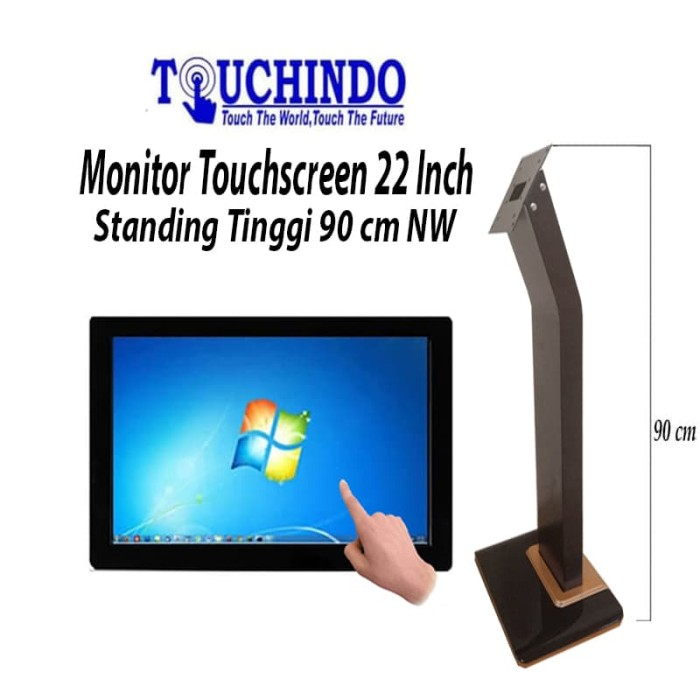 harga Monitor touchscreen touchindo nw 22 inch stand tinggi 1 mtr Tokopedia.com