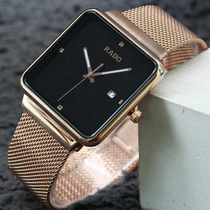 Jual Jam tangan Rado Rosegold black dial quality super premium ... 90c03636d6