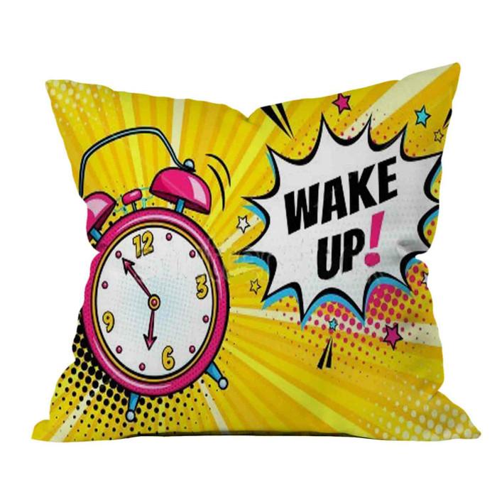Jual Sarung Bantal Sofa Pop Art Wake Deco4room Tokopedia