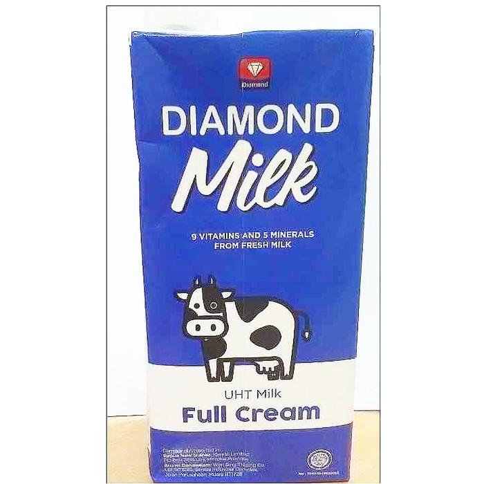 Jual Susu Diamond Uht Milk Plain 1 Liter Harga Promo Toko Dua