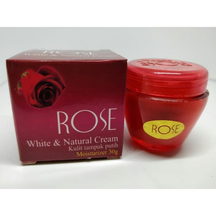 Foto Produk Cream Rose White & Natural Krim Kulit Tampak Putih Tahan Lama dari Mei Grosir