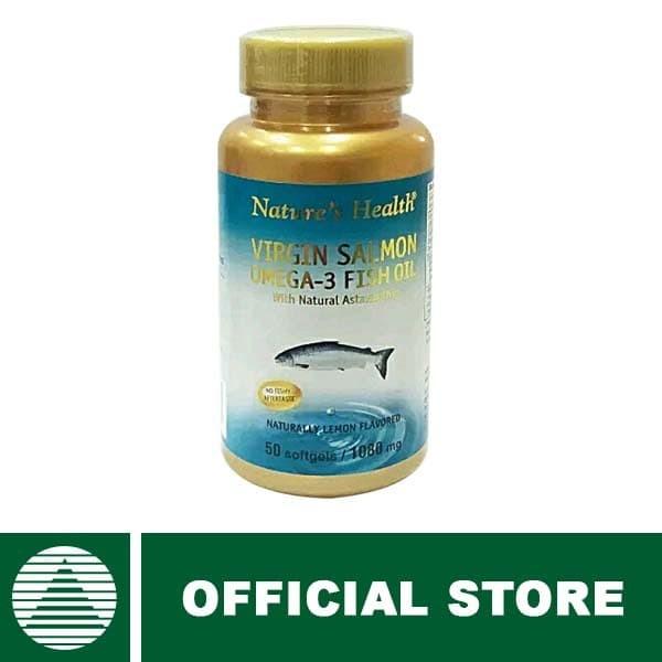 harga Bundling nature's health virgin s.omega-3 (lemon) (50) Tokopedia.com