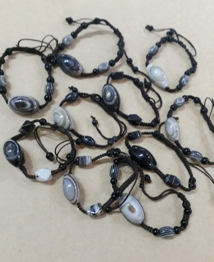 harga Gelang tali batu akik mata sulaiman asli dari iran Tokopedia.com