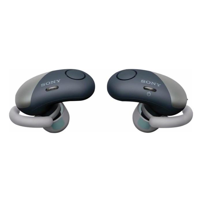 harga Sony wf-sp700n truly wireless noise cancelling sport headphone black Tokopedia.com