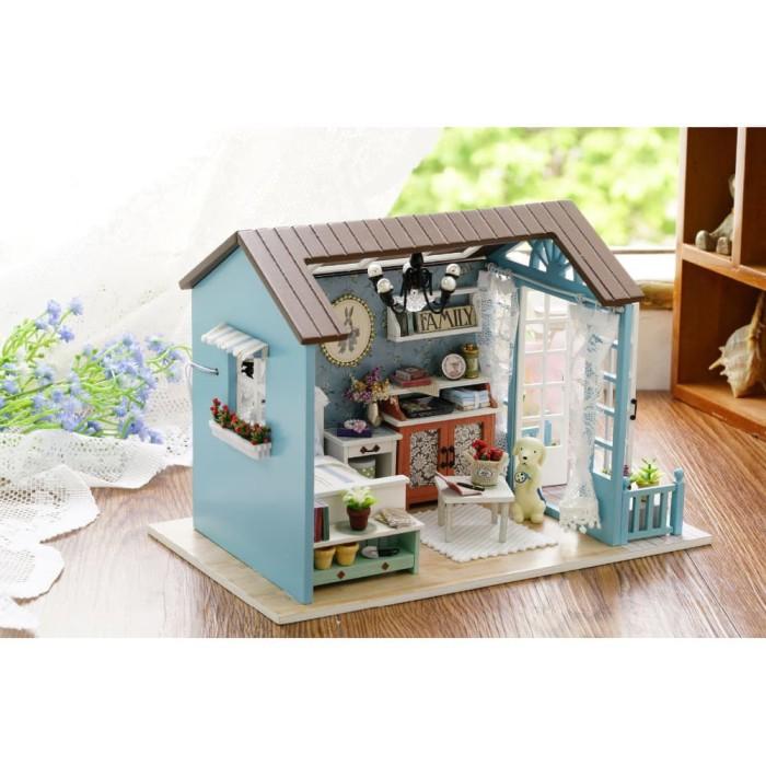 Jual Pajangan Miniatur Rumah Boneka 3D DIY 1 24 - ShopInBandung ... 9696af0adb
