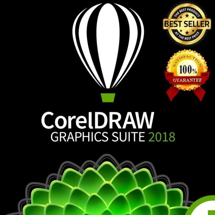 Jual Corel Draw 2018 Graphic Suite (32+64bit) Full Version DVD Software -  Kota Bandung - eLGames PC DVD   Tokopedia