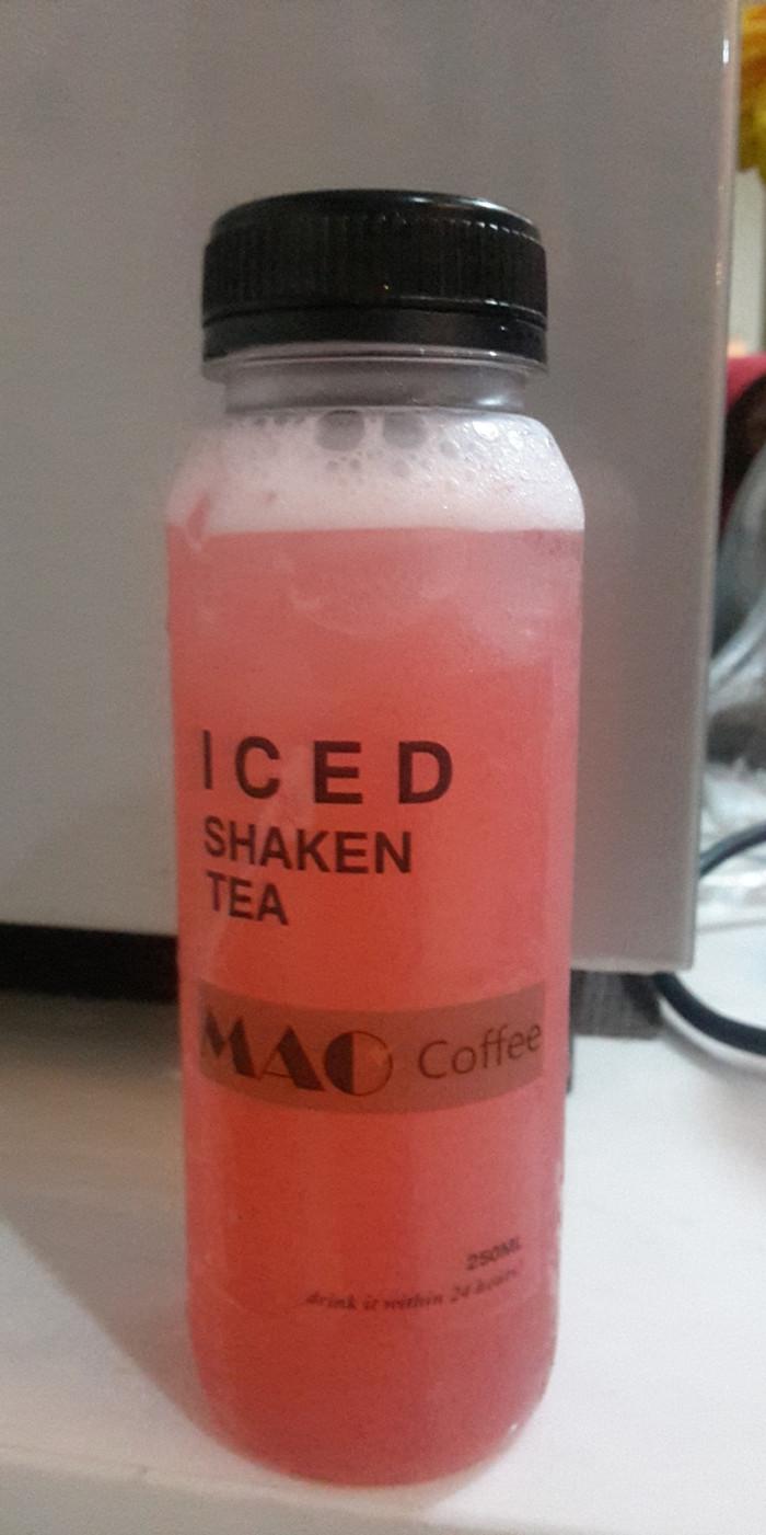Jual Iced Shaken Tea Nyegarkan Dan Berkhasiat Dibuat Dari Bunga Rosella Kota Depok LaprHaus
