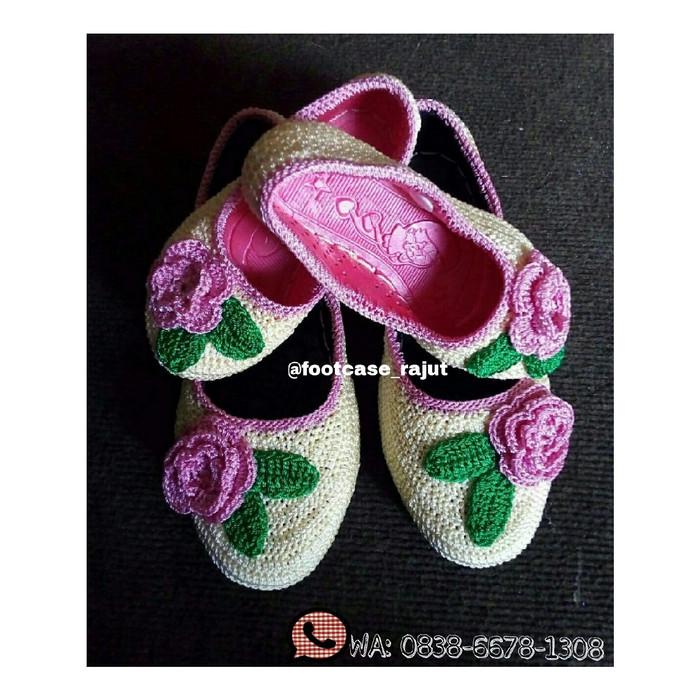 Jual Sepatu rajut couple ibu   anak modis 5a155cd5e2