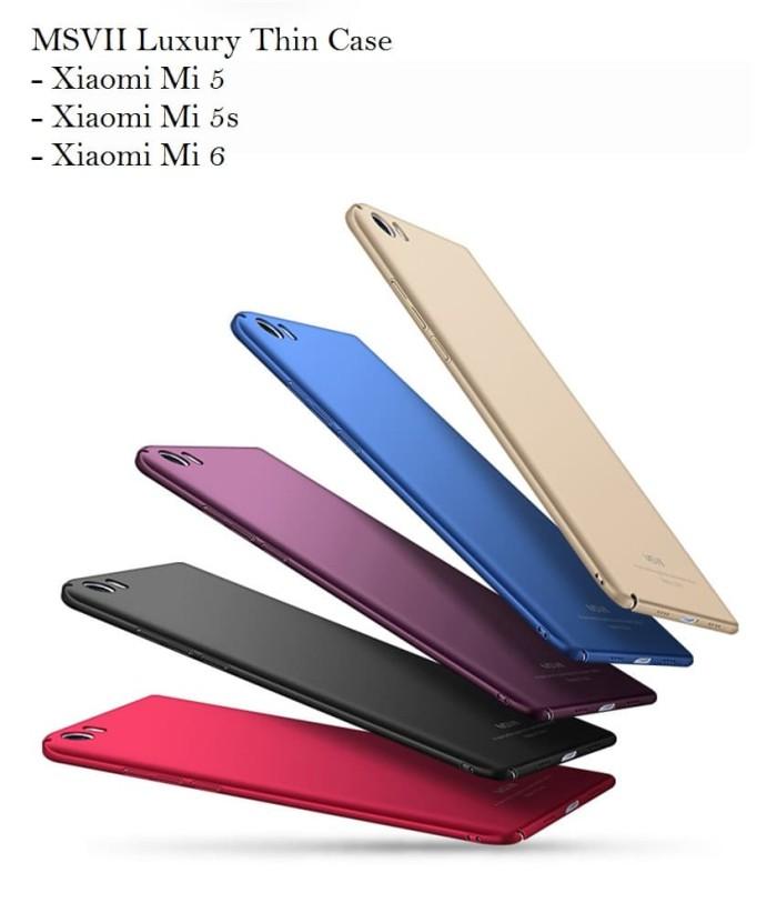 Foto Produk MSVII Luxury Thin Case For Xiaomi - Mi 6, Mi 5, Mi 5s, Mi 5s+ ORIGINAL dari PH-KINGDOM