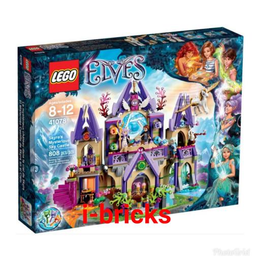 harga Lego elves 41078 skyra's mysterious sky castle Tokopedia.com