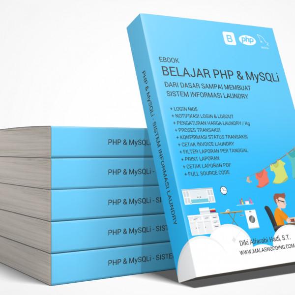 harga Belajar php & mysqli dari dasar sampai membuat aplikasi laundry Tokopedia.com