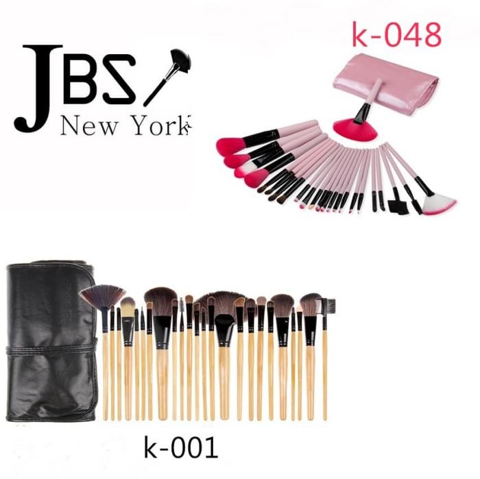 harga Kuas make up / kuas makeup 24 pcs professional make up brush brown