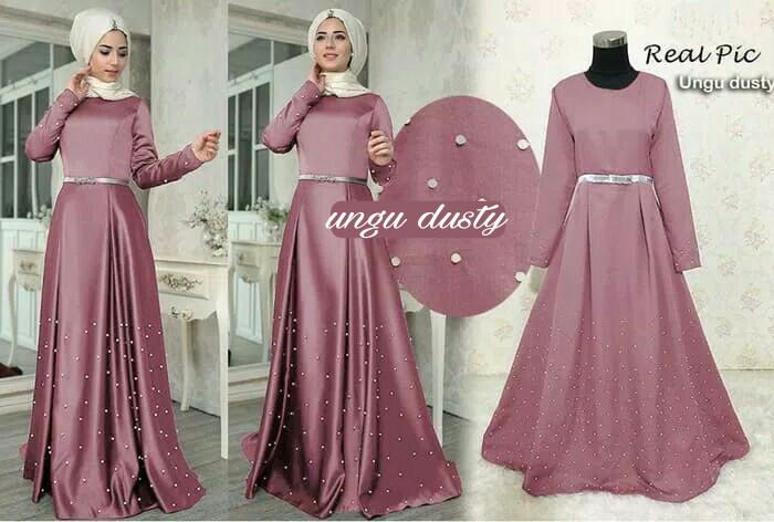 Jual Baju Pesta Muslimah Gaun Maxi Dress India Gamis Abaya Turki