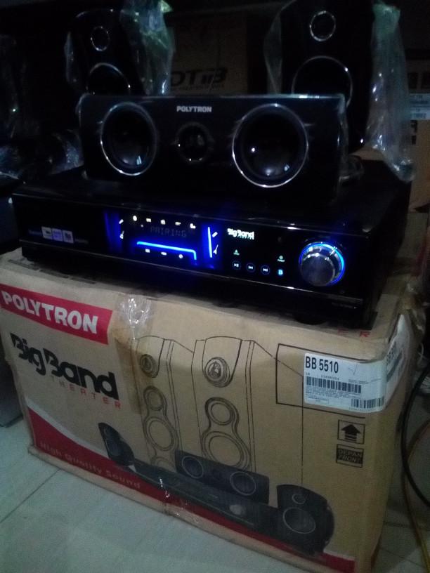 harga Mesin amplifier bigband polytron bb5510 bluetooth Tokopedia.com