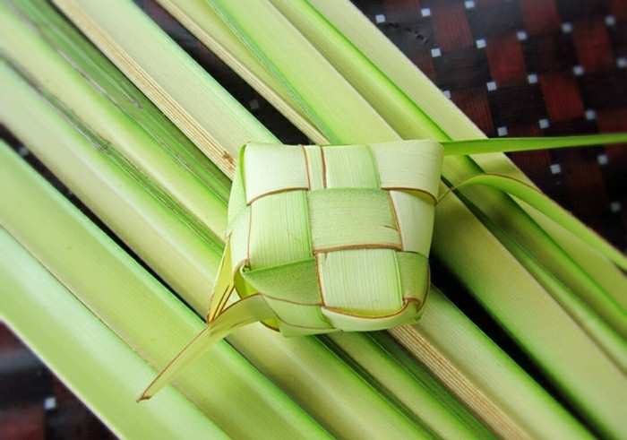 Image result for daun kelapa for katupong