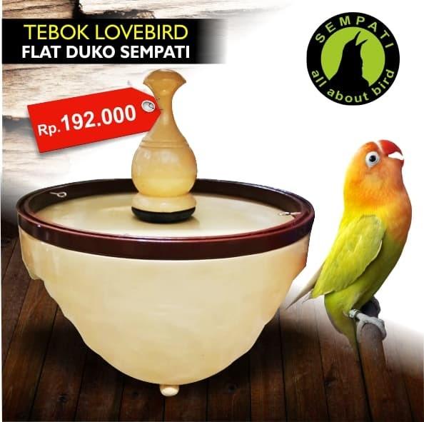 harga Tebok sangkar burung lovebird flat duko sempati Tokopedia.com