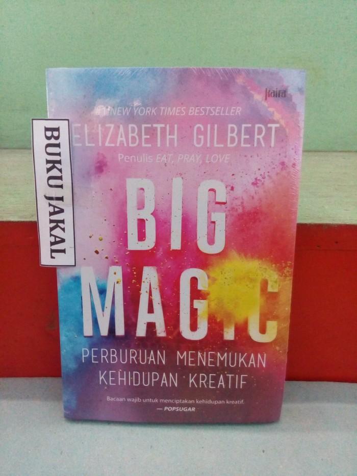 harga Buku big magic perburuan menemukan kehidupan reatif mh Tokopedia.com