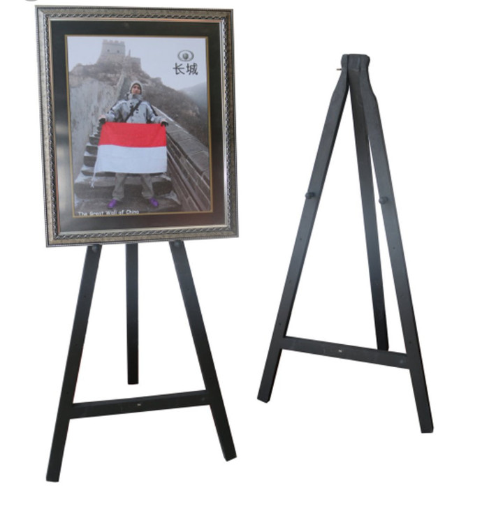 harga Stand frame kayu (50 x 100) standing foto bingkai Tokopedia.com