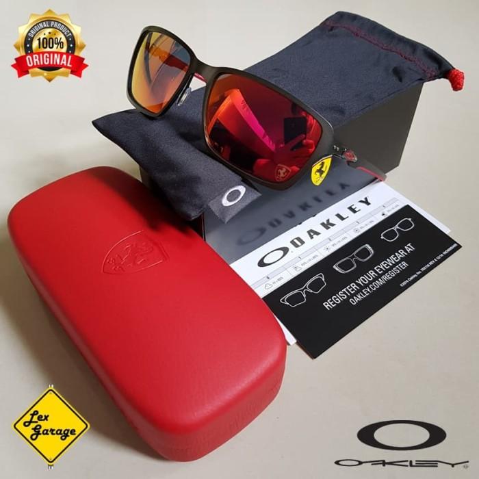 ... harga Oakley tincan carbon ferrari - carbon   ruby iridium Tokopedia.com bcb2884db5