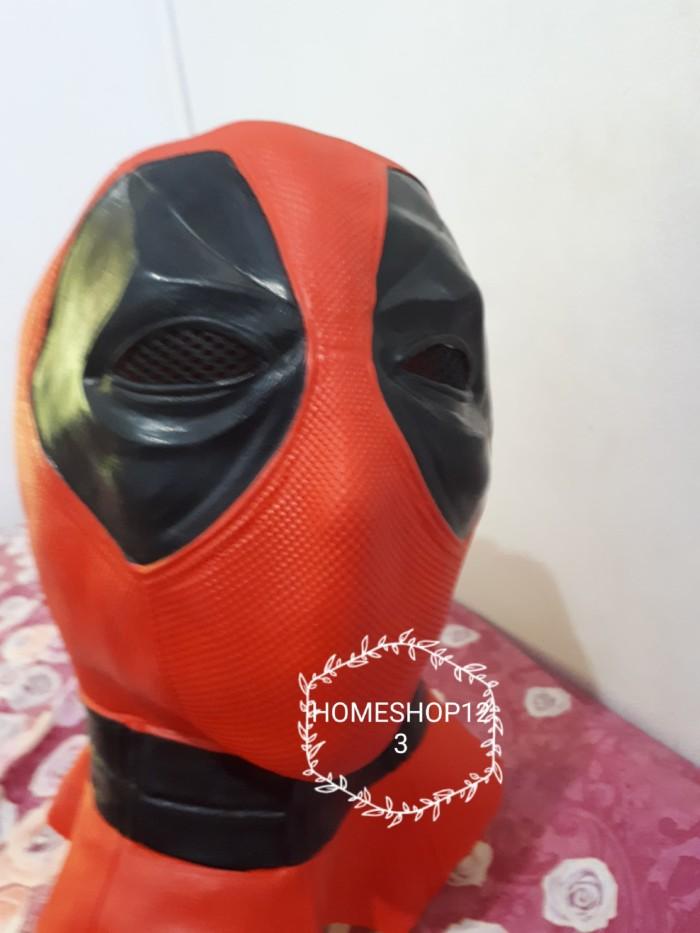 harga Deadpool mask latex premium topeng deadpool latex premium Tokopedia.com