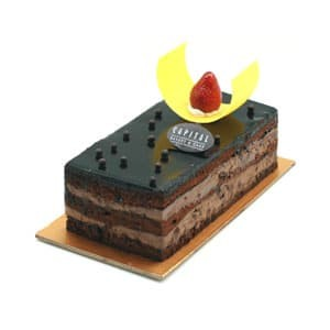 Jual CHOCOLATE MOUSSE Birthday Cake 10X20cm