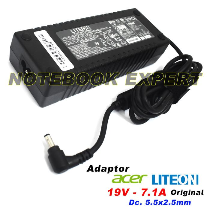 Charger Adaptor Laptop Acer 19V-7.1A (5517) Z5770, Z5771, Z5772