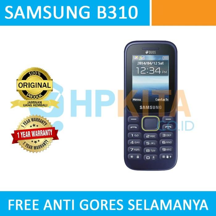Jual Samsung B310 Blue Biru White Putih Biru Hpkita Tokopedia