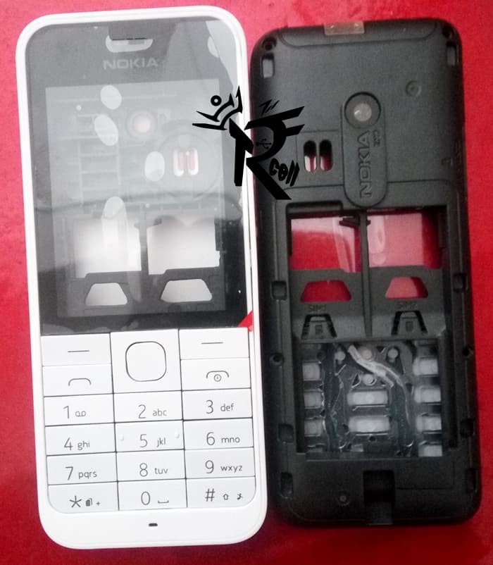 Casing Nokia 220 Chasing Kesing Nokia 220 Fullset Casing Nokia 220 Ful