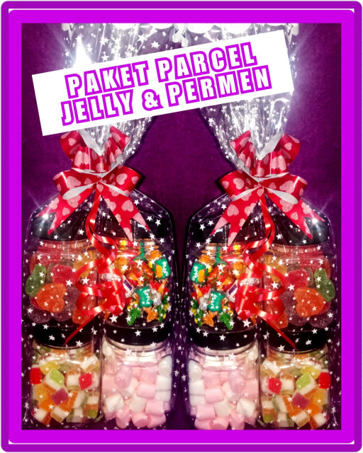 Paket jelly mix / parcel lebaran / coklat jelly mix / lagie delfi