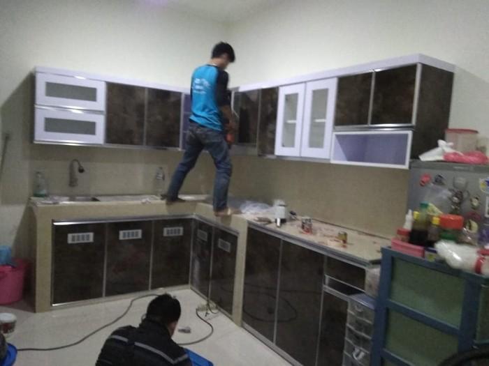 Jual Kitchen Set Lemari Lemari Dapur Rak Dapur Lemari Pakaian