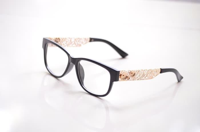 Jual kacamata wanita murah jo71 (frame+lensa) anti radiasi - YUNITA ... 5f74b0218c