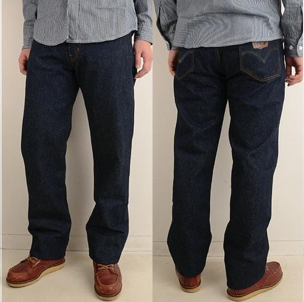 Celana Jeans Big Size Reguler /Standar - Navy, 42