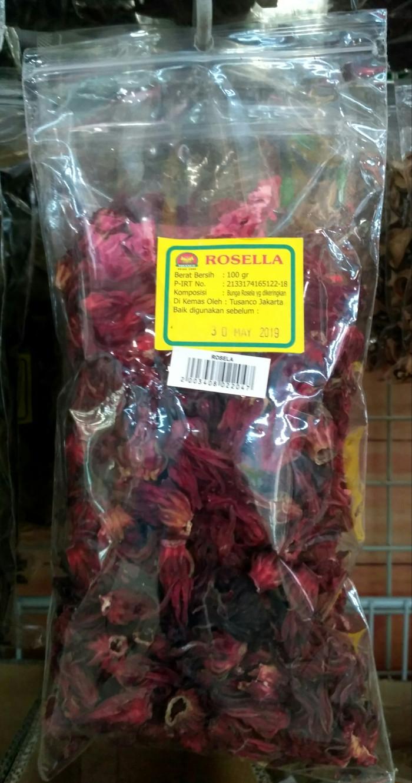 Jual Bunga Rosella 100 Gram Kota Tangerang Selatan Hokky Shop 789