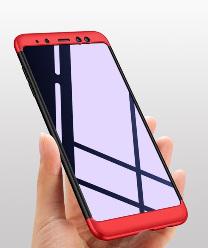 buy popular 68543 7e6ea Jual Case Samsung A6 - A6 Plus 2018 casing hp slim full cover HARDCASE 360  - Jakarta Barat - Case Pedia | Tokopedia