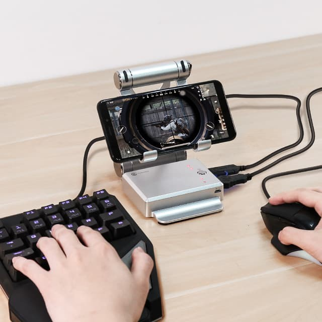 Mobile Gaming Keyboard Mouse And Battledock