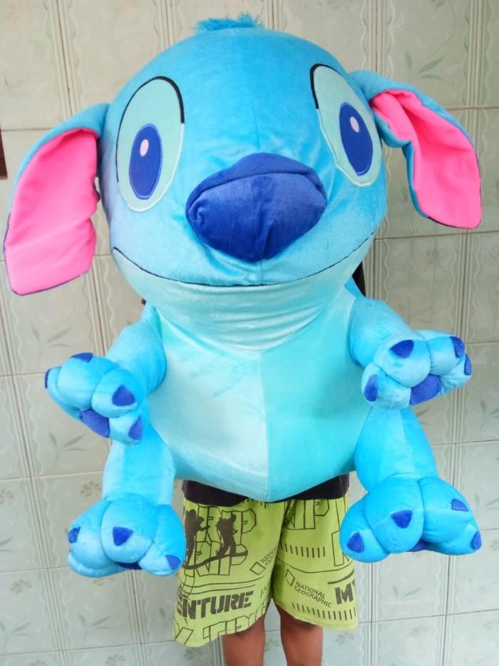 Jual Boneka Stitch Biru Jumbo Ukuran 60cm - Boneka Stitch Pink Jumbo ... b6b3eea38b