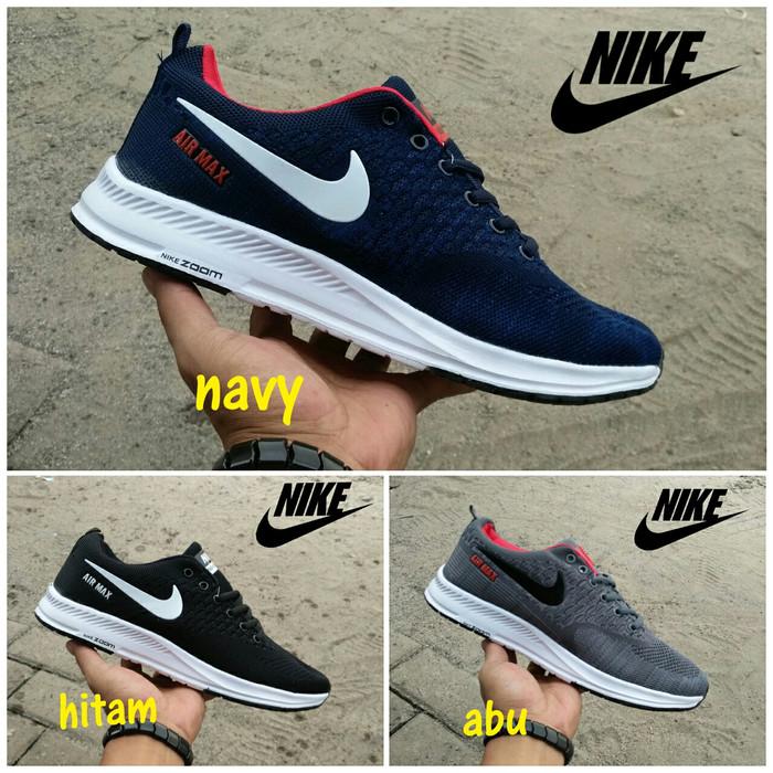 harga Sepatu Pria Nike Zoom Flyknit Nike Free Running Nike Vegasus Blanja.com