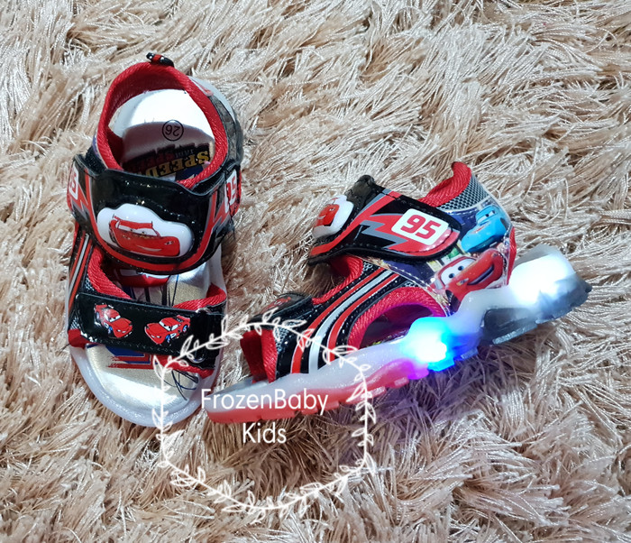 harga Sandal lampu cars / sepatu sandal lampu / sandal sepatu cars / cars Tokopedia.com
