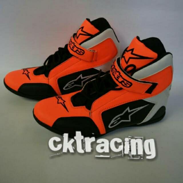 harga Sepatu drag alpinestar k2 orange - sepatu touring - balap Tokopedia.com