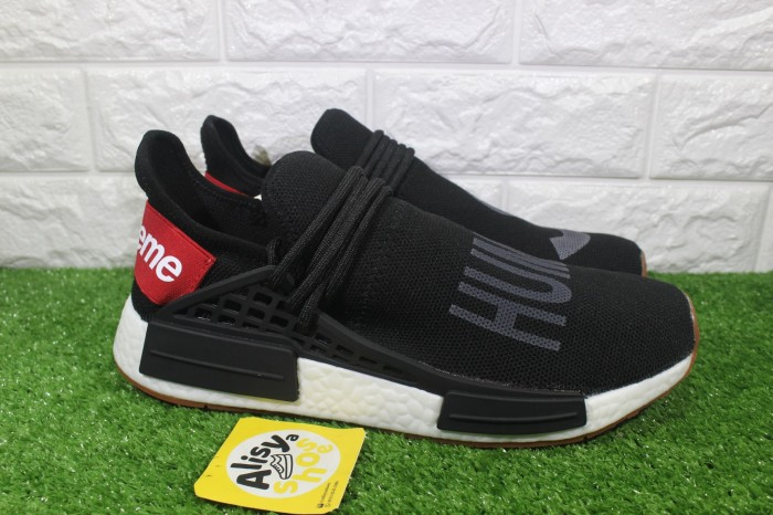 Jual Sepatu Adidas NMD Pharrell Williams Human Race X Supreme Black ... 67429da53