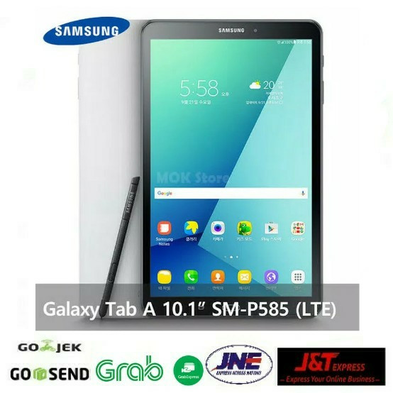 "Samsung Galaxy Tab A 2016 S-PEN 10.1"" P585 2/16GB LTE -"