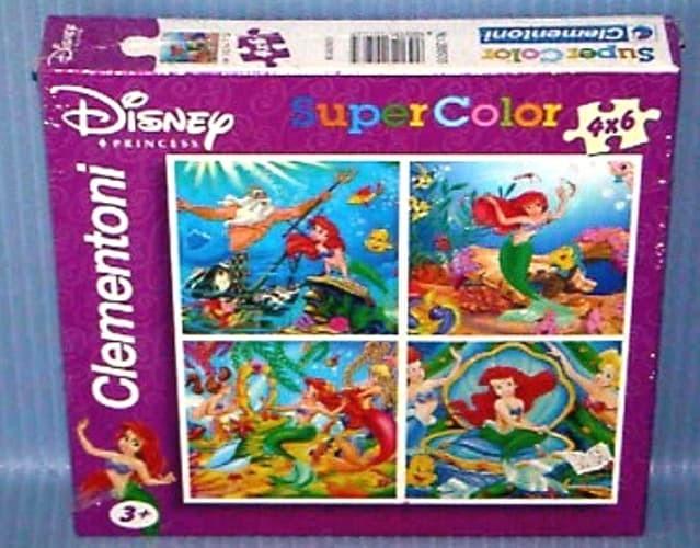 harga Puzzle clementoni 20503 - 4x6 pcs the little mermaid Tokopedia.com