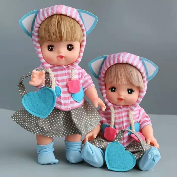 harga Baju boneka mellchan baju boneka baby alive baju impor kaos kaki Tokopedia.com